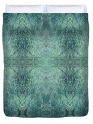 Indigo Lotus Lace Pattern 1 Duvet Cover