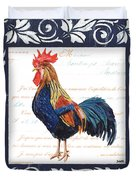 Indigo Rooster 2 Duvet Cover
