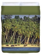 Indonesian Beach Duvet Cover