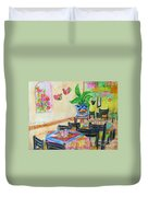 Indoor Cafe - Gifted Duvet Cover