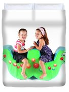 Indoor Playground Duvet Cover