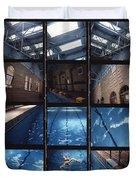 Indoor Pool Duvet Cover
