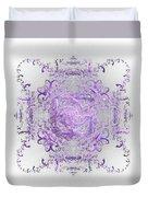 Indulgent Purple Lace Duvet Cover