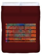 Industrial Abstract 5 Duvet Cover by Andy  Mercer