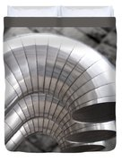 Industrial Air Ducts Duvet Cover