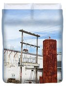 Industrial Building One Duvet Cover