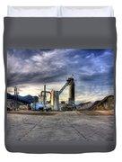 Industrial Landscape Study Number 1 Duvet Cover