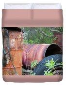 Industrial Leftovers Duvet Cover