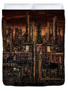 Industrial Psychosis Duvet Cover