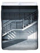 Industrial Stairway Duvet Cover