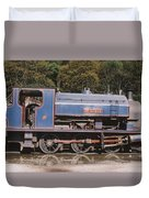 Industrial Steam Engine Duvet Cover