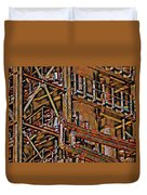 Industrial Storage And Distribution System Duvet Cover