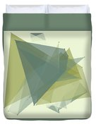 Industry Polygon Pattern Duvet Cover