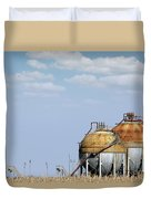 Industry Tank For Gas And Liquid Duvet Cover