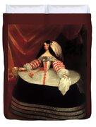 Inez De Zuniga - Countess Of Monterrey Duvet Cover