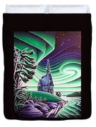 Church Of The Infant Jesus, Longlac, Ontario Duvet Cover