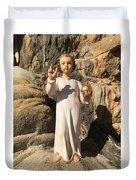 Infant Jesus Of Prague Duvet Cover