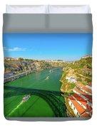 Infante Bridge Oporto Duvet Cover