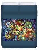 Infinite Cosmic - Abstract Duvet Cover