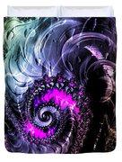 Infinite Cosmic Drain  Duvet Cover