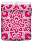 Infinite Lily In Pink Duvet Cover