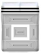 Infinite Maze 2 Duvet Cover