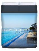 Infinity Pool Duvet Cover