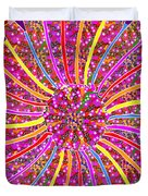Infinity Star Flower An Abstract Fineart Expression By Navinjoshi At Fineartamerica.  Colorful Fun Duvet Cover