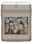 Infrared Botanical Sepia  Duvet Cover