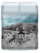 Infrared Gazebo Duvet Cover