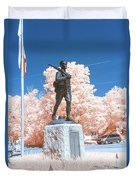 Infrared Memorial Duvet Cover