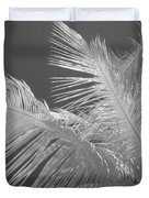 Infrared Palm Trees Duvet Cover