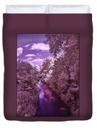 Infrared River Duvet Cover