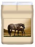 Inherit The Wind Duvet Cover by Corey Ford