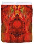 Ink Meditation Duvet Cover