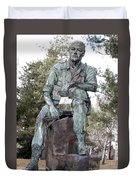Inland Northwest Veterans Memorial Statue Duvet Cover