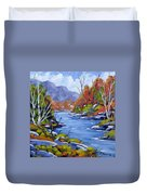 Inland Water Duvet Cover