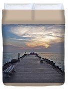 Inlet Fort Pierce Duvet Cover