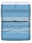 Inlet Waves Duvet Cover