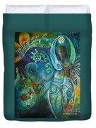 Inner Goddess By Reina Cottier Duvet Cover