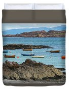 Inner Hebrides Transportaion Duvet Cover