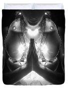 Inner Illumination - Self Portrait Duvet Cover