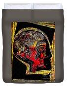 Inner Man Duvet Cover by Sarah Loft