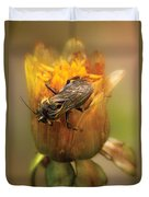 Insect - Bee - Dare To Bee Different Duvet Cover