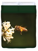 Insect - Bee - Honey I'm Home Duvet Cover