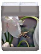 Insect In Flower Duvet Cover