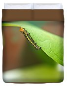 Insect Larva 2 Duvet Cover