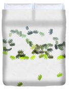 Insects Marching All Over Duvet Cover