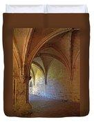 Inside A Monastery Dordogne France  Duvet Cover