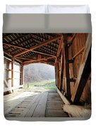 Inside Big Rocky Fork Bridge Duvet Cover